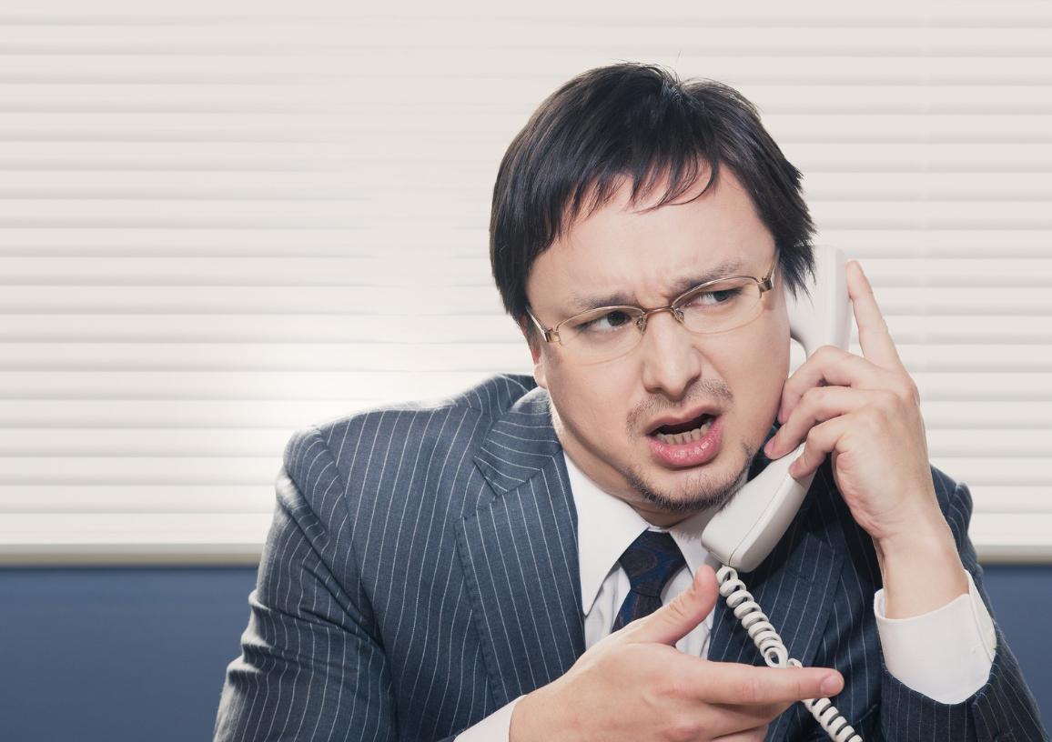 電話で真実を知る